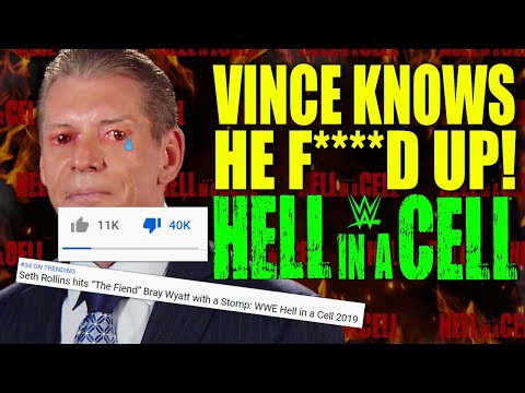 Vince McMahon Knows He F**K*D UP WWE Hell in A Cell 2019! WWE 24/7 Title Getting Cancelled!?