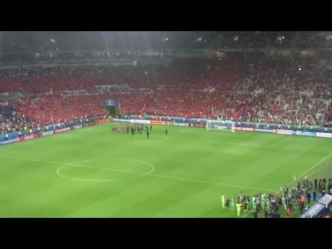 Wales vs Portugal - Post Game. Euro 2016