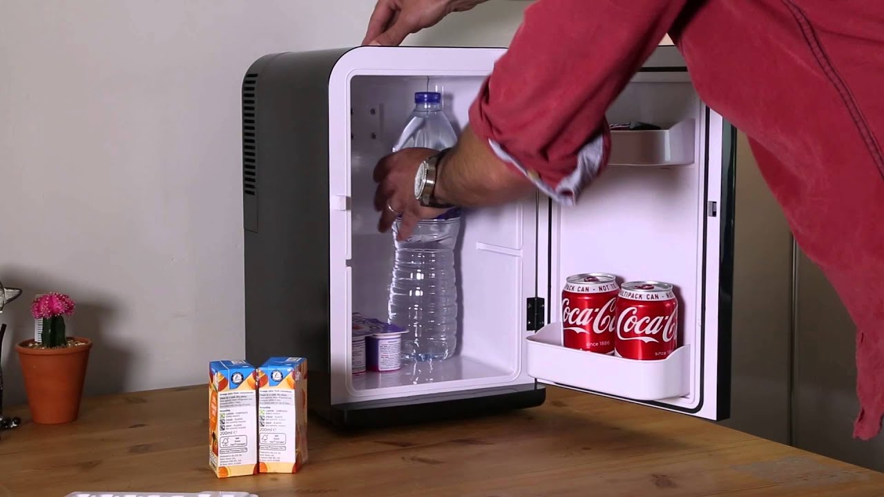 iceq 15 litre portable mini fridge black youtube 13263 | maxresdefault
