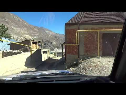 North Caucasus: Entering Dagestan Village from Chechen  チェチェンからダゲスタンの村に入る