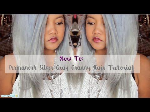 Silver Hair Tutorial | vanitydoll