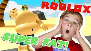 GETTING SUPER FAT in ROBLOX / EATING AND FARTING SIMULATOR