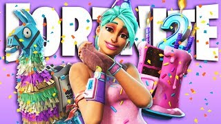 **FREE GIFTS** IN THE SECOND ANNIVERSARY OF FORTNITE - adreplays