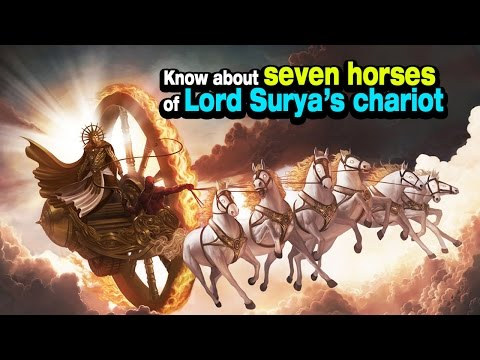 Know About Seven Horses Of Lord Surya's Chariot | ARTHA | AMAZINF FACTS