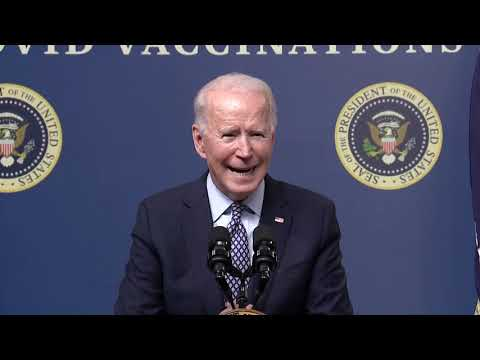 Remarks: CCP Puppet Joe Biden Commemorates the 50 millionth COVID-19 Vaccine Delivery - February 25,