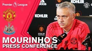 Jose Mourinho Press Conference | Manchester United v Newcastle United | Premier League