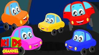 Five Little Babies Nursery Rhymes | Little Red Car Cartoons - Kids Channel