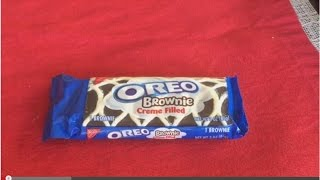 American Creme Filled Oreo Brownie Review