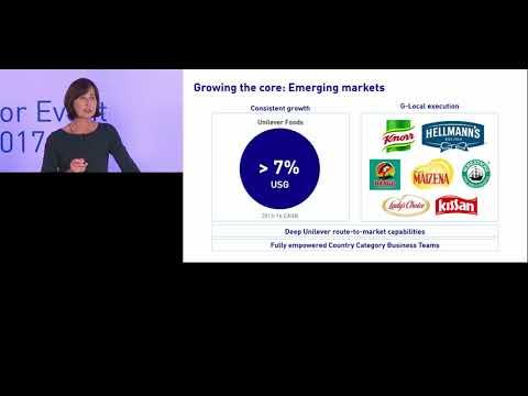 Unilever Investor Event 2017 - Amanda Sourry & Kevin Havelock