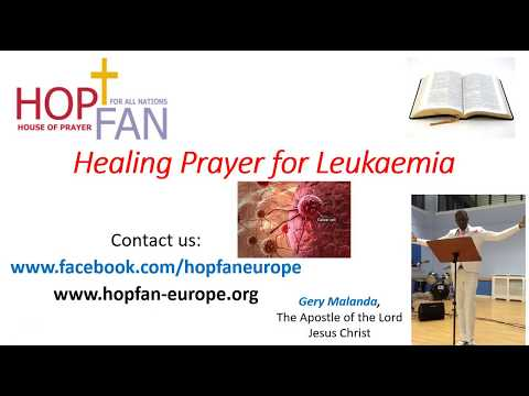Healing Prayer For Leukaemia