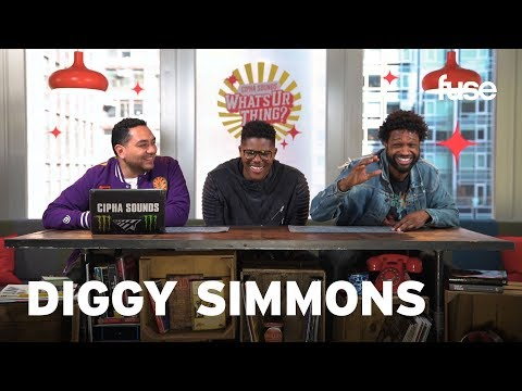 Diggy Simmons Talks Iconic Mafia Movies And Thrift Store Shopping | What's Ur Thing | Fuse