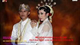 Video Rias Pengantin Bekasi Barat-0812-1234-6681-Album Pengantin Solo Putri-Ratih & Eko