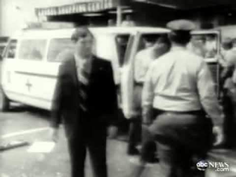 George Wallace Shot, May 15 1972. Archive Film.
