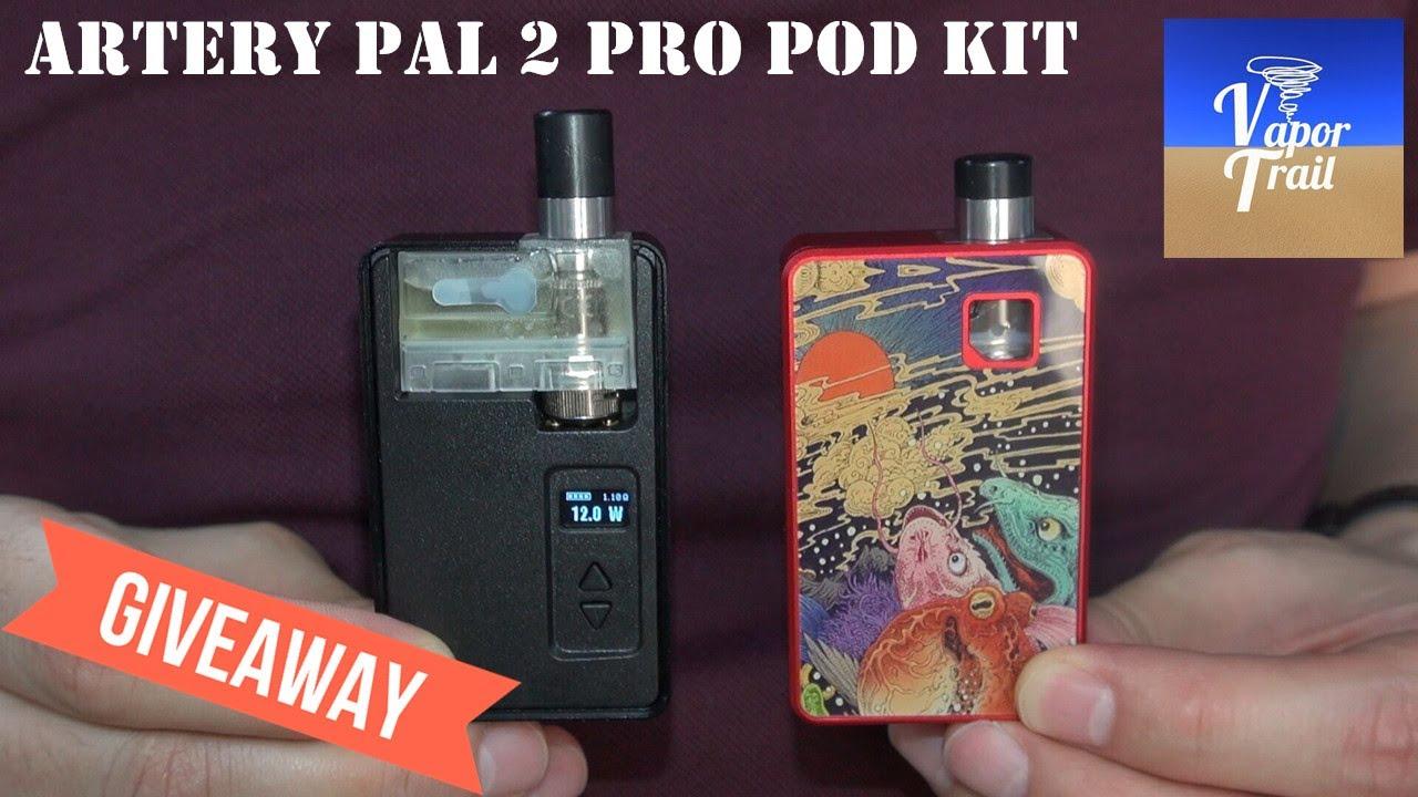 [Tony B Project] Artery Pal 2 Pro Pod Vape Kit | Full Review and Giveaway