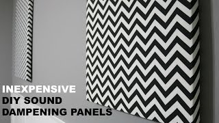 DIY Acoustic Sound Panels (GoodWill)