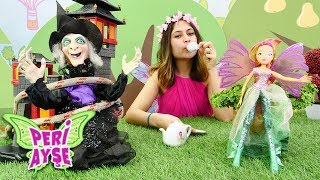 Cadı Peri Ayşe'ye tuzak kuruyor! Sihir yapma oyunu