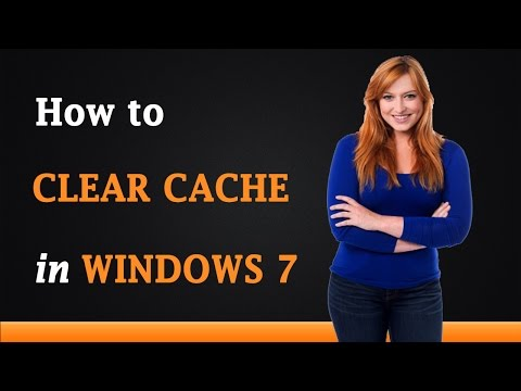 How to Clear Cache in Windows 7