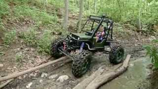 Mini Rock Crawler Built for a 5 year old