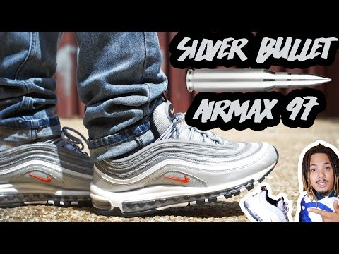 """THESE ARE GOING TO SELL OUT !!! AIR MAX 97 """"SILVER BULLET"""" REVIEW AND ON FOOT !!!"""