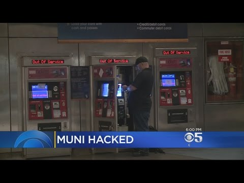 Cyber Attackers Hack Muni's Fare System In San Francisco