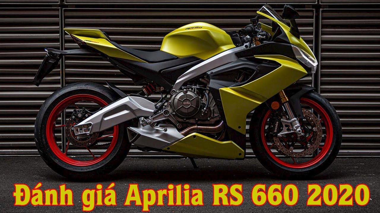 [Reivew] Siêu Mô Tô Aprillia RS 660 2020 Đẹp – Mạnh – Công Nghệ – Trang Bị Khủng