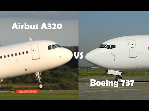 Airbus A320 VS Boeing 737