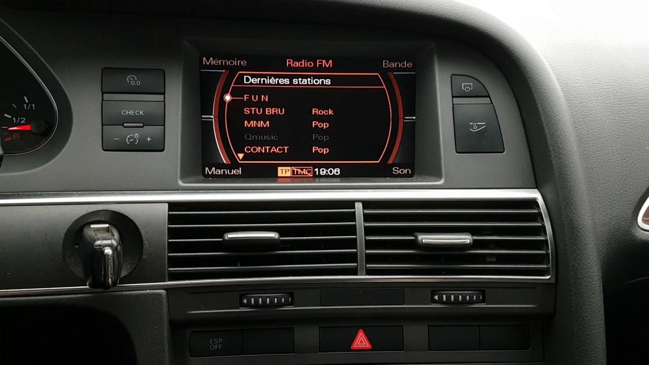 Audi A6 C6 Mk1 2 7l TDI V6 180cv 2006 - Audi Sound System