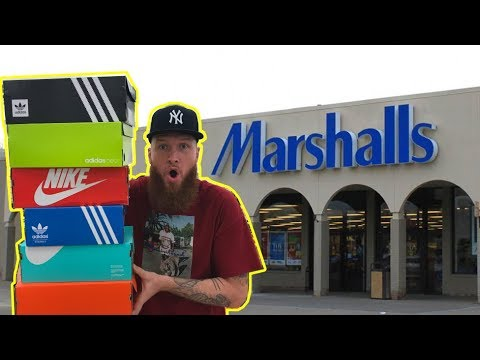 SEARCHING FOR LIMITED SNEAKERS AT MARSHALLS!!!! PART 4!!!!