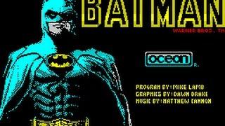SPECTRUM 48K - BATMAN THE MOVIE - OCEAN