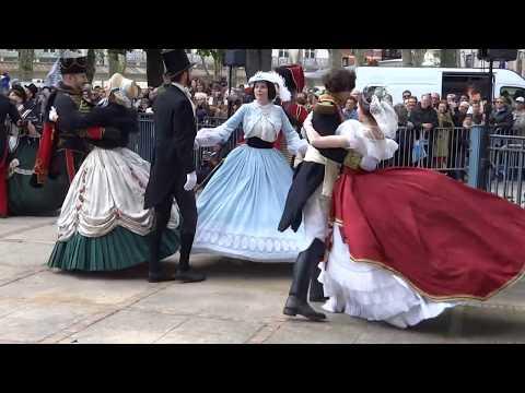 Vichy Danse Eugenie et Napoleon III avril 2016