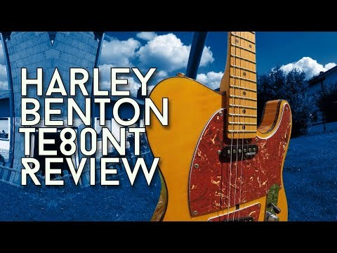 Look like a Prince on a budget? Harley Benton TE80 NT Deluxe - Review!