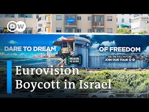 Activists call for boycott of Eurovision Song Contest in Israel | DW News Mp3