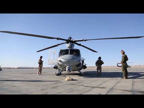 UH-1Y Huey Close Air Support Drills