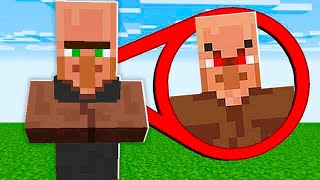 OS VILLAGERS ESCONDIAM ISSO O TEMPO TODO!!! (MINECRAFT)