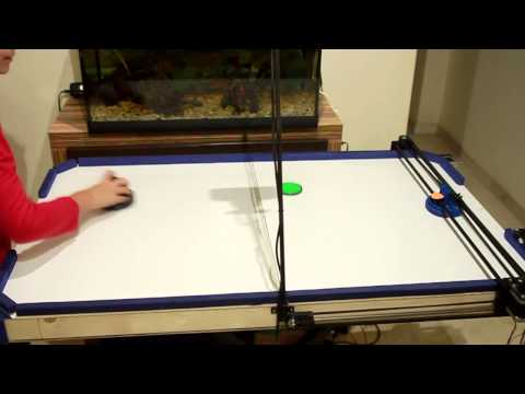 This Snarky Robot Is Really Good At Air Hockey