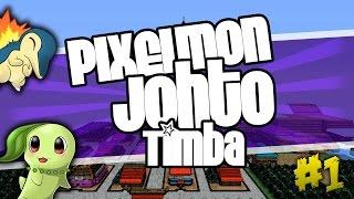PIXELMON JOHTO: UNA NUEVA AVENTURA CON TIMBA!! | MINECRAFT MODS SERIE|