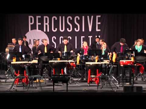Dan is the Man in the Van performed by Iowa East - West Percussion Ensemble at PASIC 2013
