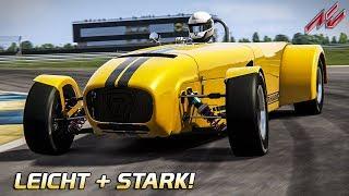 Leicht und Stark! Caterham R500 | Assetto Corsa German Gameplay [VR] Modena