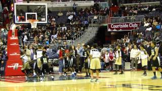 Maryland Kings - Halftime at the Verizon Center  (Wizards vs. Heat) 1-15-2014