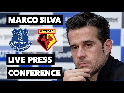 MARCO SILVA ON FACING HIS FORMER CLUB   EVERTON V WATFORD PRESS CONFERENCE