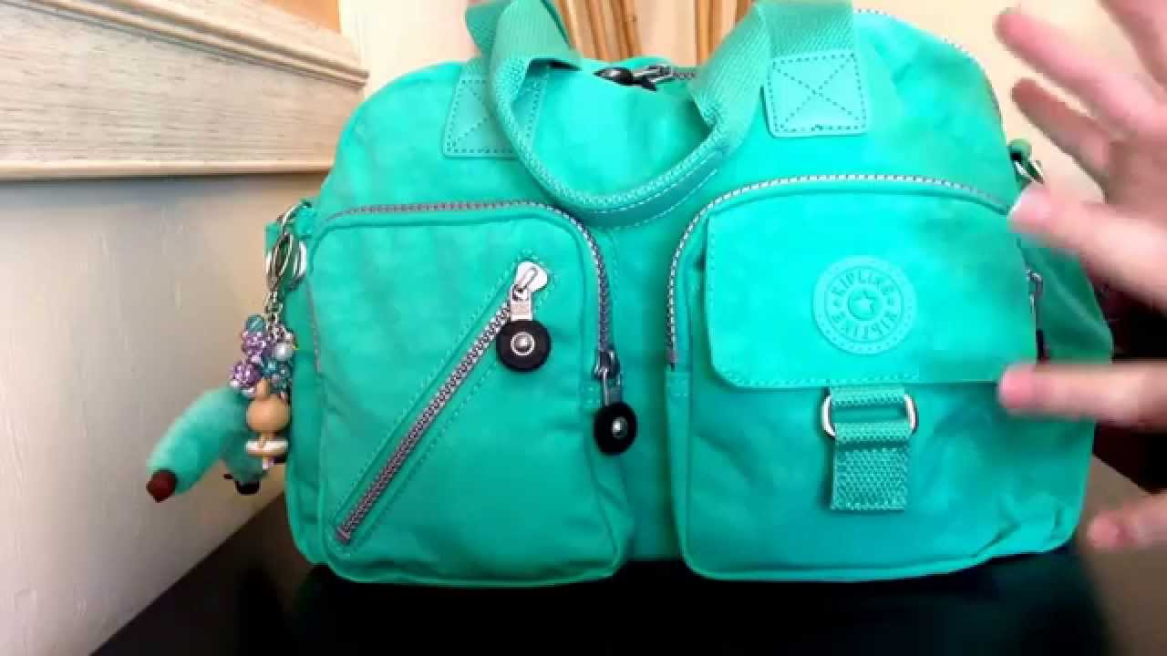 382cb012c6 Kipling Defea in cabbage! Packed as a handbag purse with ONLY things for  Mommy  ) - YouTube
