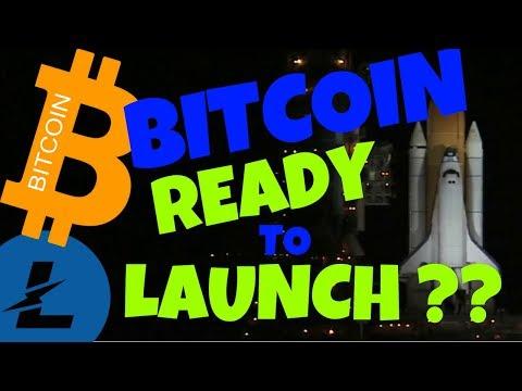BITCOIN READY TO LAUNCH??? LITECOIN And BITCOIN Price Analysis, Btc Ltc News