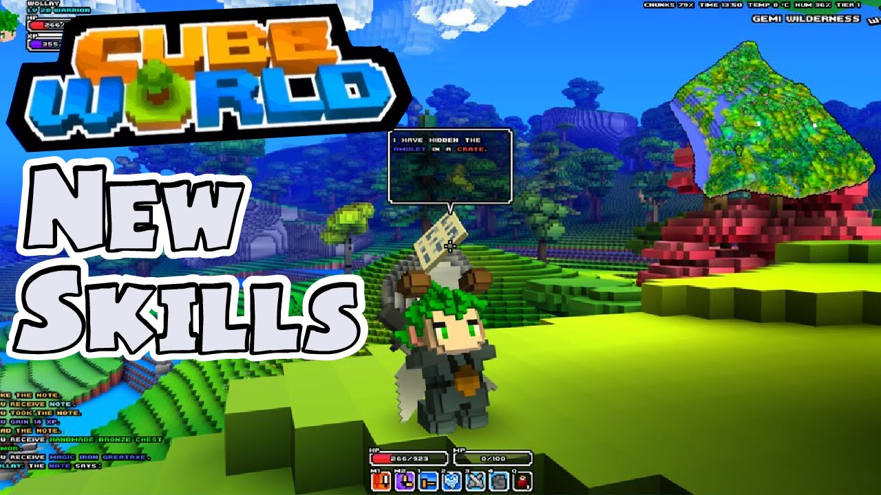 Cube World Map.Cube World Discussion New Skills New Title Map Revamp Youtube
