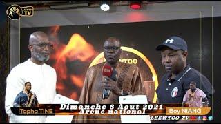 Partenariat entre LEEWTOO et GFM : Tapha Tine vs Boy Niang 2 sur la TFM