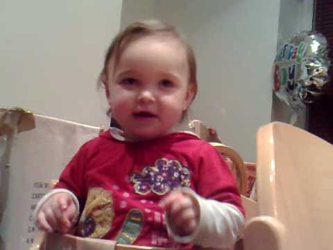 Best 1 year Old Singer in the World - My Baby Daughter Mimi