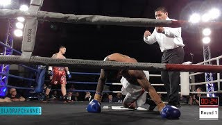 "Nik ""The Greek"" Charalampous vs Afatasi Fuiava @ The Big Bash 8 - Auckland"