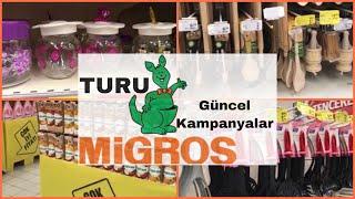 Migros Turu  2019 | Migros Mutfak Ürünleri | Migroskop 2019 İNDİRİM