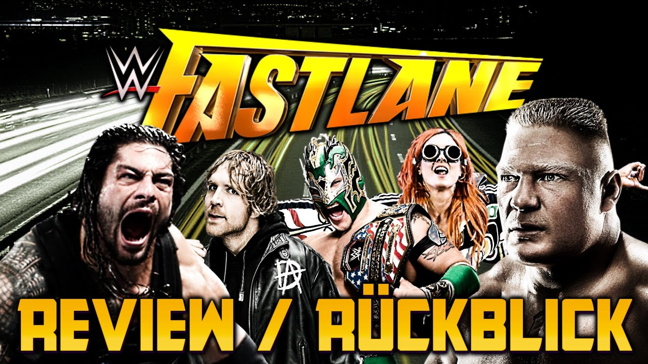 wwe fastlane deutsch