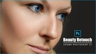 Professional Beauty retouch In Just 1 minute - Adobe Photoshop Tutorial 2018