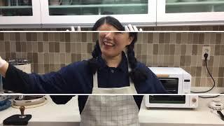 양배추 분말 식빵 만들기